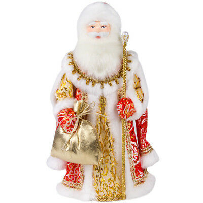 """12"""" Father Frost Collectible Doll. Russian Santa Claus Figurine. Ded Moroz"""