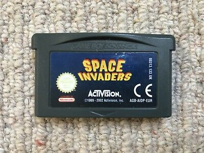 Space Invaders - Cart Only Game Boy Advance GBA 100% Genuine (A)