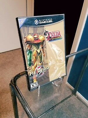 Legend of Zelda The Wind Waker & Metroid Prime Combo Nintendo GameCube Complete