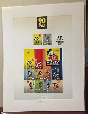 Portugal 2018 - 90 Years Mickey first day sheet, limited edition (6000 only)