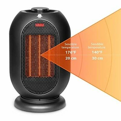 MRMIKKI Small Space Heater for Office, 1200W/700W Electric Heater for Home, [N4]