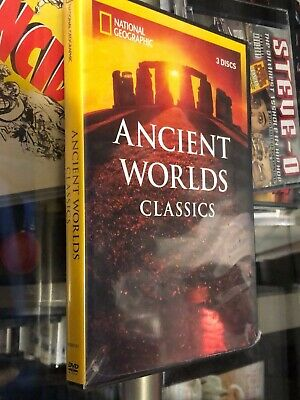 National Geographic - Ancient Worlds Classics (DVD) 3-Disc Set! Five Programs!