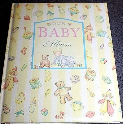 BABY BOOK -  OUR BABY ALBUM  - a Fill in Keepsake record book