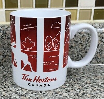 Tim Hortons Canada Traveller's Collection Coffee Mug Series 1 2016