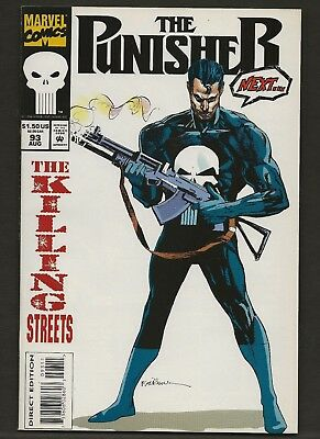 Punisher #93  VF+  Marvel (1987 2nd Series)   *Free Shipping*
