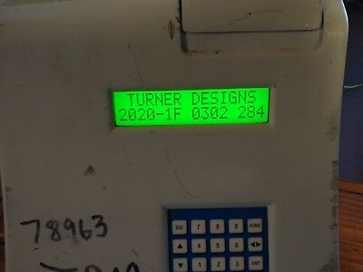 Turner Designs TD-20/20 Luminometer **Tested to Power**
