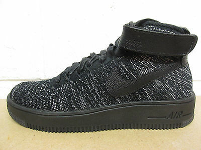 the best attitude 380fb 24d77 Nike Femmes AF1 Air Force 1 Flyknit Baskets Montantes 818018 002 Baskets
