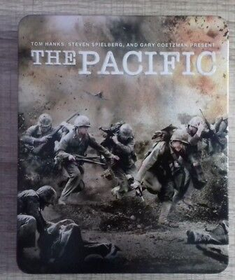 Coffret Blu ray The Pacific STEELBOOK COLLECTOR fr