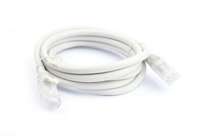 8Ware Cat 6a UTP Ethernet Cable, Snagless  - 2m Grey