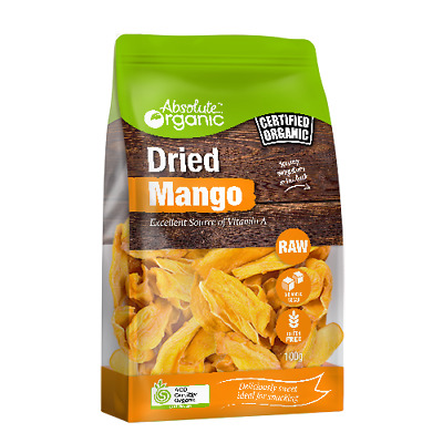 Absolute Organic Dried Mango 100g