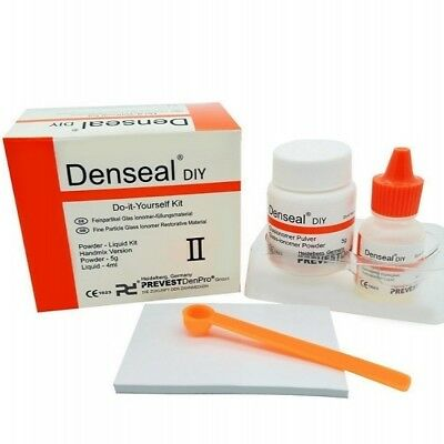 Dental Cement DIY High Strength Permanent White Tooth Filling Cement Material Ki