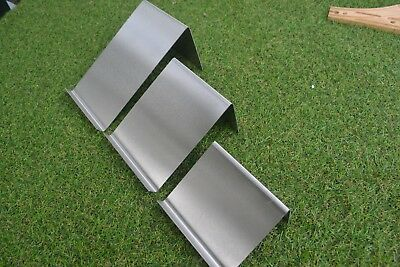 1.2 18swg Stainless Steel grade 304 bend it Molds Glass Moulds set of 3