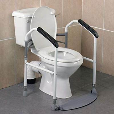 Homecraft Buckingham Foldaway Toilet for Eldery, Handicapped, and Disabled Aid