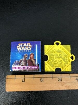 Vintage 2002 STAR WARS/Frito Lay Yellow Clone Trooper Puzzle Piece/Booklet-RARE