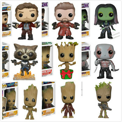 Funko POP Marvel's Guardians of the Galaxy Star-Lord/Groot/Roket/Gamora Figure