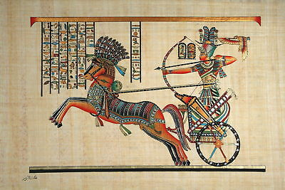 Hand Made Egyptian Papyrus   Size 8 X  12   Inch   26