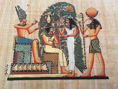 Hand Made Egyptian Papyrus   Size 8 X  12   Inch   1246
