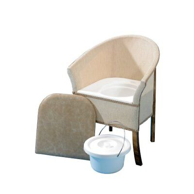 Homecraft Bedroom Commode, Bedroom Chair with Built In Commode Seat for Discrete