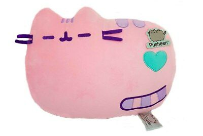 NEW Pusheen Cushion Pastel Pink 36cm from Purple Turtle Toys