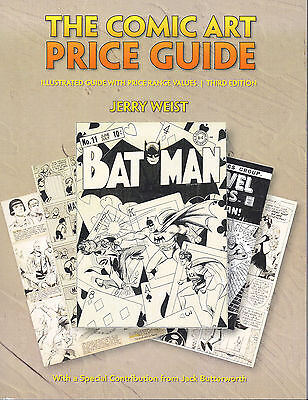 The Comic Art Price Guide, Illustrated with Price Range Values 3rd Edition 2011