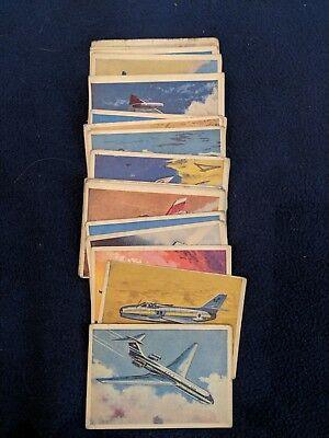 Master Vending (Cardmaster) Jet Aircraft of the World