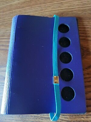 Filofax pocket planner with elastic strap