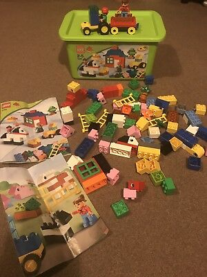 Lego Duplo Farm Building Set 5488 With Original Box Instructions