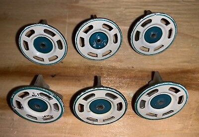 Pachinko machine Parts - Blue, Green And White Spinners