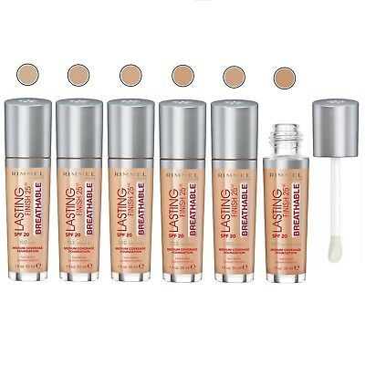 Rimmel Lasting Finish 25 Hours Breathable Foundation Spf 20 - Choose Your Shade