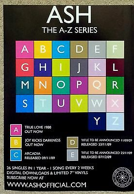 ASH The A-Z Series - Full Page Magazine Advert Picture 2009 - RARE