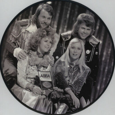 """ABBA Summer Night City - vinyl limited picture 12"""" new rare"""