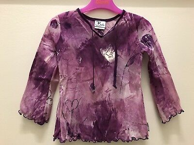 BALU Girls Gorgeous Purple 2 Piece Outfit, Size 3 Years