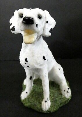 "MINT! NOS Stone Critters Sitting Dalmatian Dog Figurine SC-159 4.5"" T Sculpture"