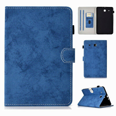"""For Samsung Galaxy Tab E 9.6"""" SM-T560 T567V Tablet Cover Protective Wallet Case"""