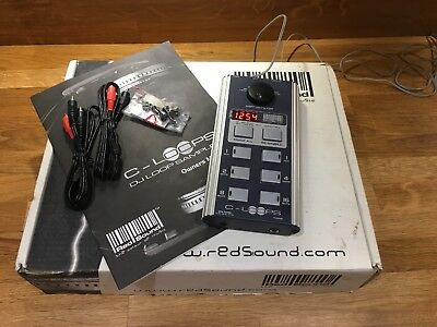 Redsound Cycloops Soundbite Loop DJ Sampler Original Box With Manual
