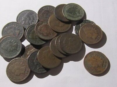 21 Indian Heads, Half Cent, Canada Large cent, Buffalo/Liberty nickels - Culls