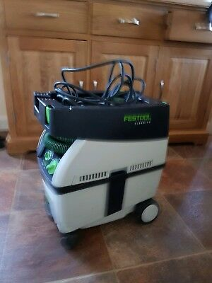 Festool cleantec 240v,1200w,variable speed CTL Midi dust extractor .