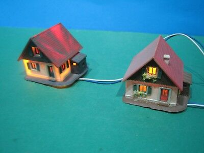 Z Scale > Two Small Houses > Pre-Built & Lights > Vgc See Pic's #52
