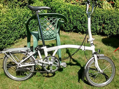 d582980c7 BROMPTON H6R 6 Speed Folding Bike. White. 2013. Used but excellent  condition - EUR 929