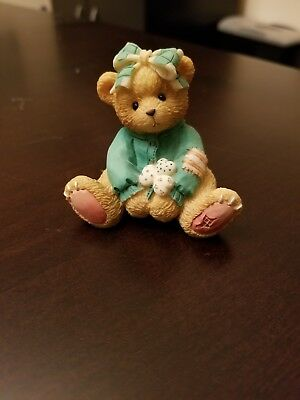 "Cherished Teddies 916447 Kathleen ""Luck Found Me a Friend in You"" 1993"