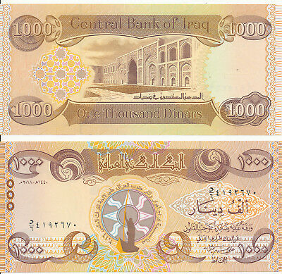 Irak / IRAQ - 1000 Dinars 2018 UNC - Pick New