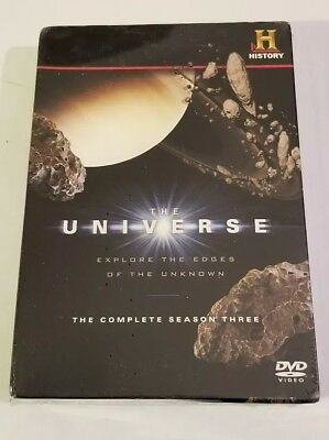 The Universe Complete Season Three Dvd  New Sealed History Channel