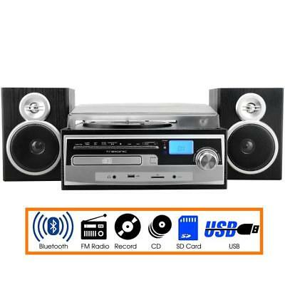 SHELF STEREO SUPERSONIC Bluetooth System Mp3 Cd Cassette