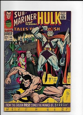 Tales to Astonish 90 GD/VG 1st appearance of the Abomination
