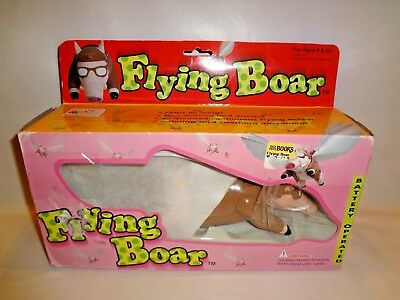 Flying Boar Flying Pig On A String Animated Flies Around In Circles New In Box