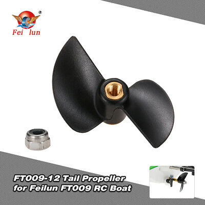 Original Feilun FT009-12 Tail Propeller Boat Spare Part for FT009 RC Boat N3K1