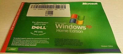 Microsoft Windows XP Home SP2 Service Pack 2 Reinstallation CD -- Still Sealed