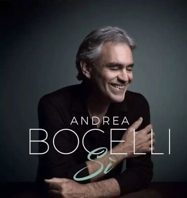 Andrea Bocelli - Si (2018) CD - Brand New Sealed!