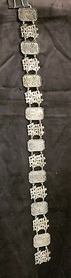 Antique Silver Chinese Wedding Belt China Bride Longevity Happiness