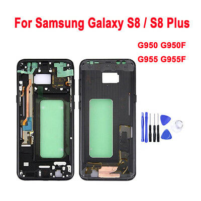 OEM Original For Samsung Galaxy S8 / Plus Mid Housing Bezel Middle Frame Chassis